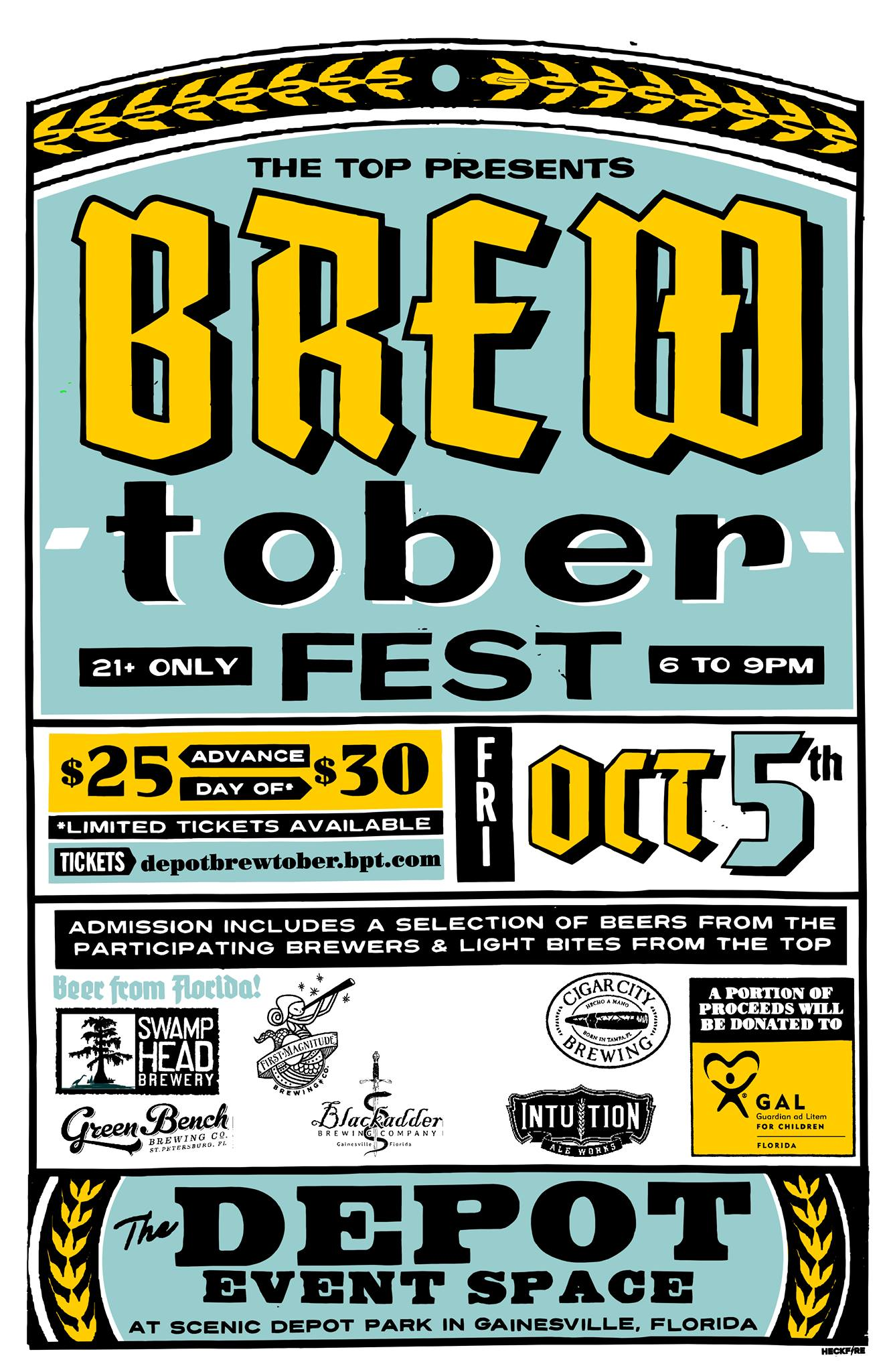 The TOP presents BREW-tober Fest