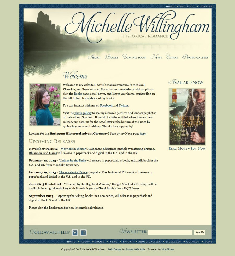 Michelle Willingham home page
