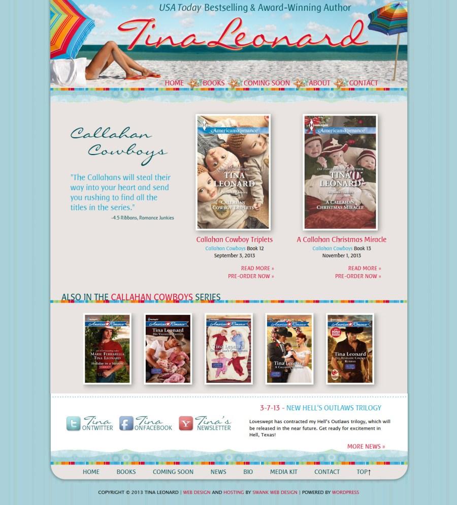Tina Leonard home page