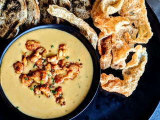 Crawfish Queso from Poitin