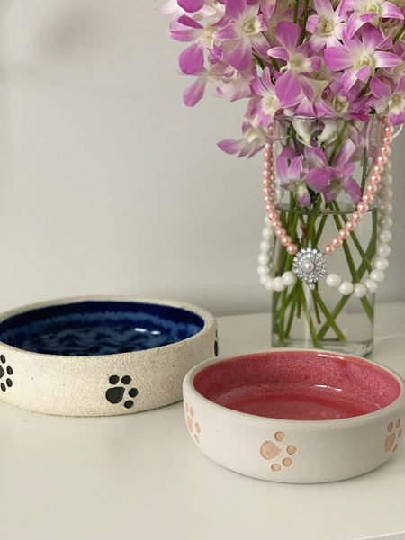 pet-bowls-ceramic-both-blue-pink-swanky-paws