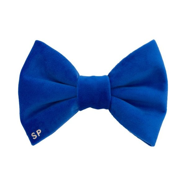 Royal blue dog bow tie is luxury for any pet. This bow tie can be personalised and worn at any casual and formal occasion