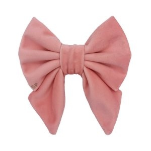 Peach sailor dog bow tie made from soft velvet. This sailor cam be personalised with name and Swarovski Crystal