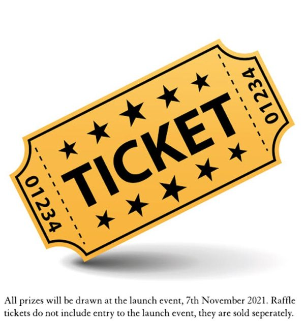 swanky paws charity book raffle ticket entry for prizes. supporting rspca nsw