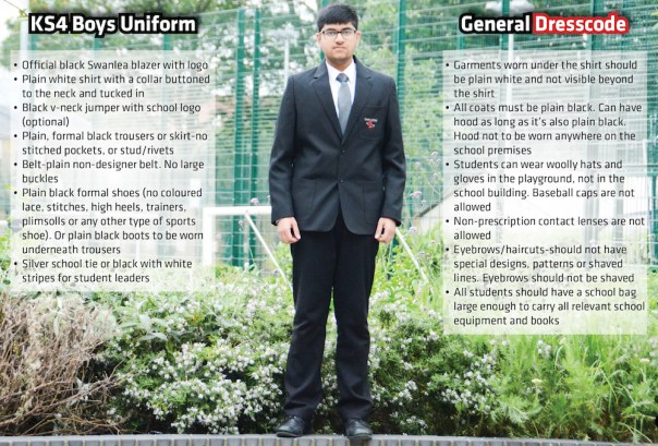 KS4 Boys Uniform