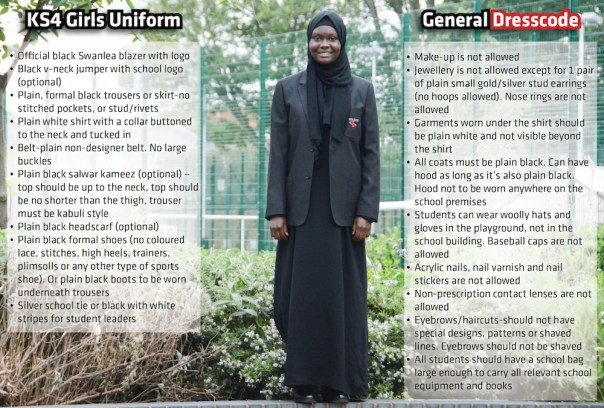 KS4 Girls Uniform