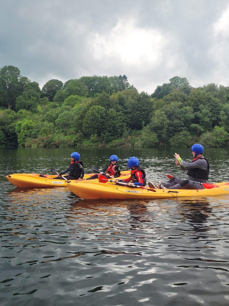 kayak lessons swansea