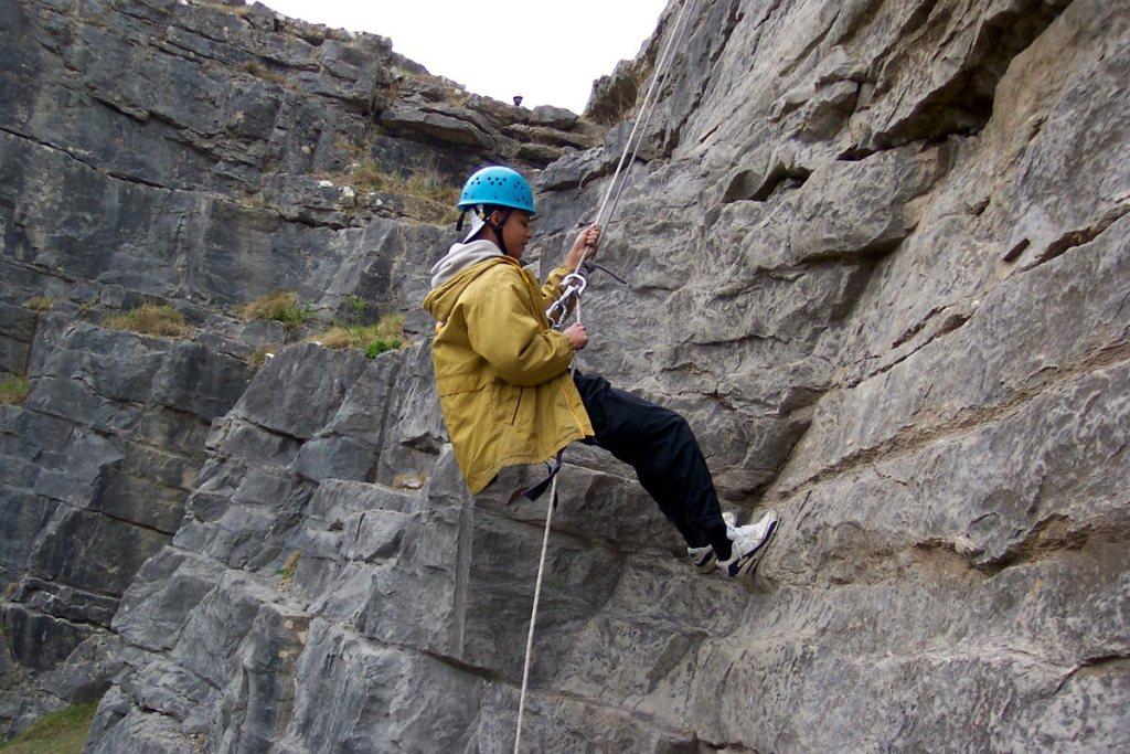 climbing swansea