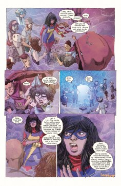 Ms Marvel #10, by G. Willow Wilson & Adrian Alphona