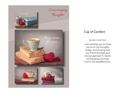 BOXED CARDS ENCOURAGEMENT CUP OF COMFORT