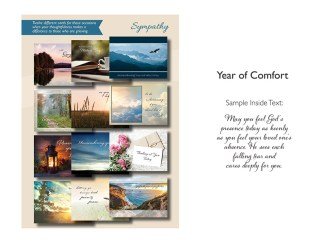 BOXED CARDS SYMPATHY YEAR OF COMFORT