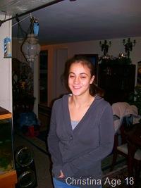 Christina Age 18 and 7 hours
