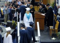 PJ in line to get his Diploma EHS Graduation June 17th 2011