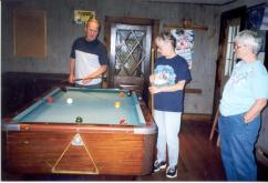 Phil Chris Arlene at Siblings Getaway 1998