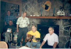 Phil Marty Ken Jim Fred VT Siblings Getaway