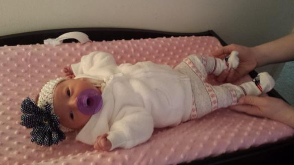 Sophia Rose Swanson at One Week