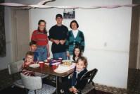 1993 Tillie Allen Lisa kids Bday