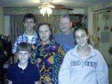 2005 Tillie Myron and Gary kids
