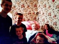 2017 03 01 Tillie with Allen Kids