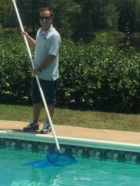 Kevin Swanson - Pool Skimming