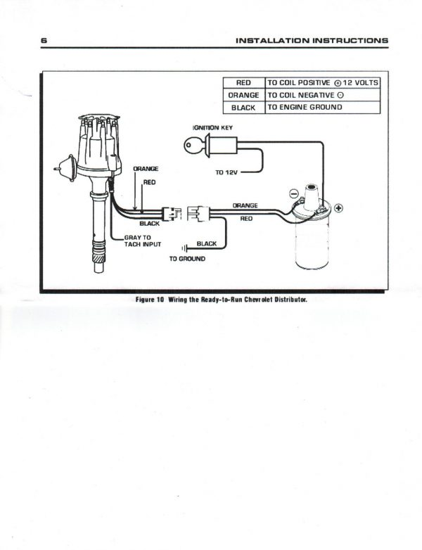 mallory distributor wiring ford 390  description wiring