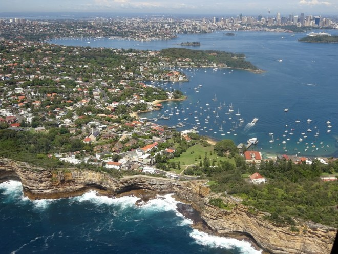 Sydney From The Helicopter