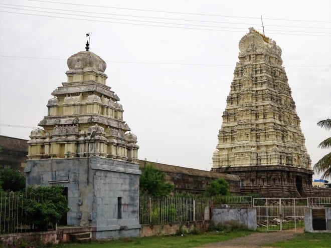 Ekambareswarar Temple - entrance