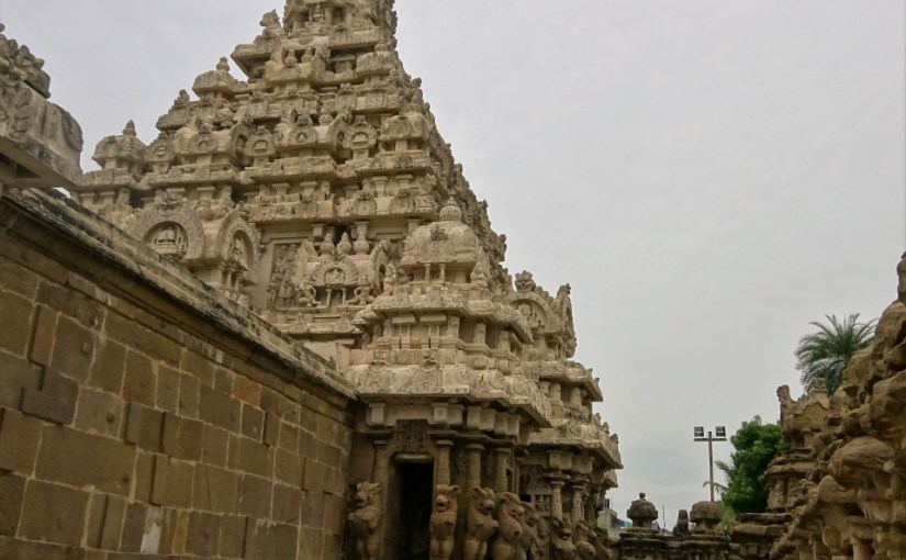 Temples and Silks in Kancheepuram
