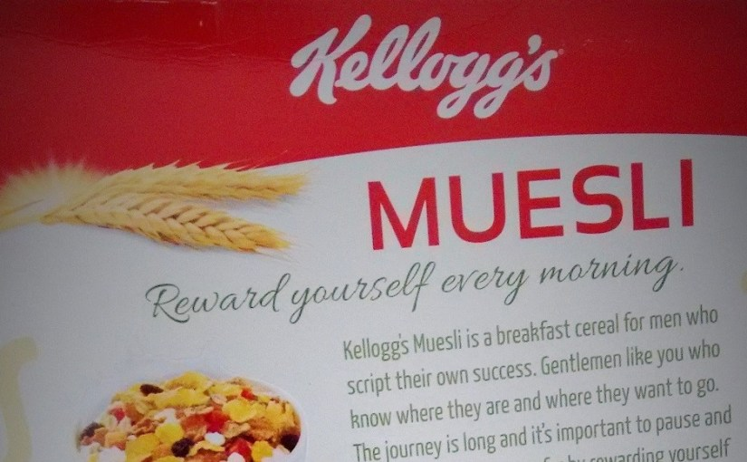 Why Can't I Eat Your Cereal, Kellogg's?