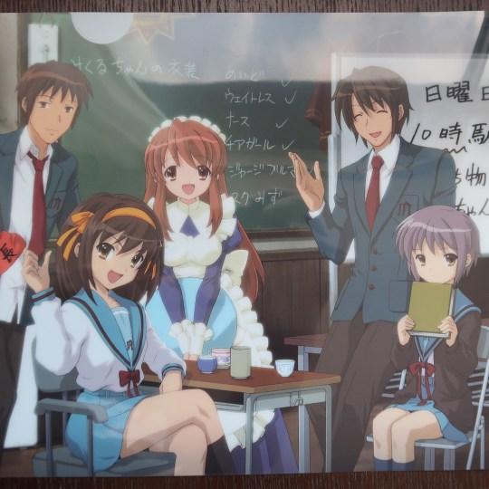 Haruhi Suzumiya Akihabara Gamers Exhibition Goods