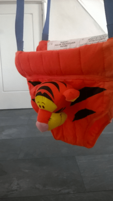 Tigger bouncer from Winnie-the-Pooh