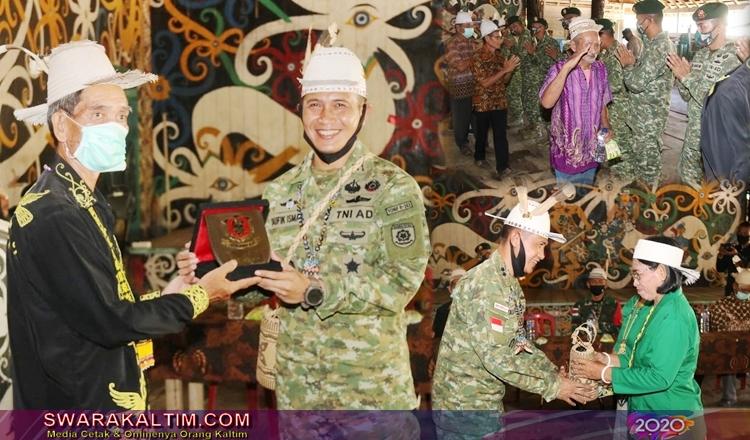 Dari Perbatasan Mahulu Satgas Yonif Raider 303SSM Pamit ke Home Base di Garut