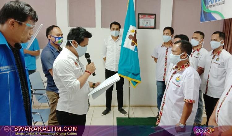 Tahap Kedua, DPD KNPI Kubar Lantik Pengurus DPK Muara Lawa
