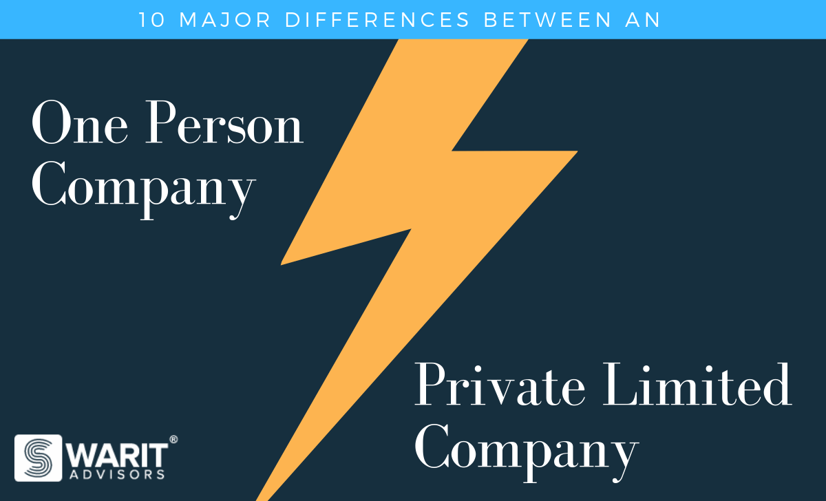 10 Major differences between an OPC & Private Limited Company