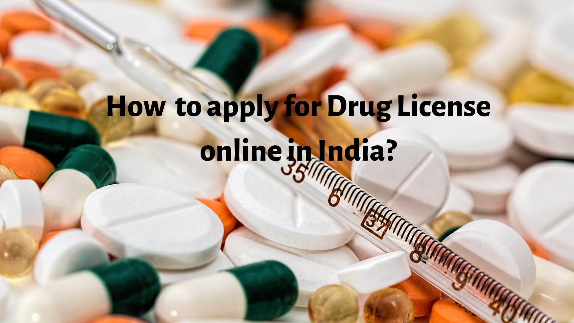 How to apply for Drug License online in India