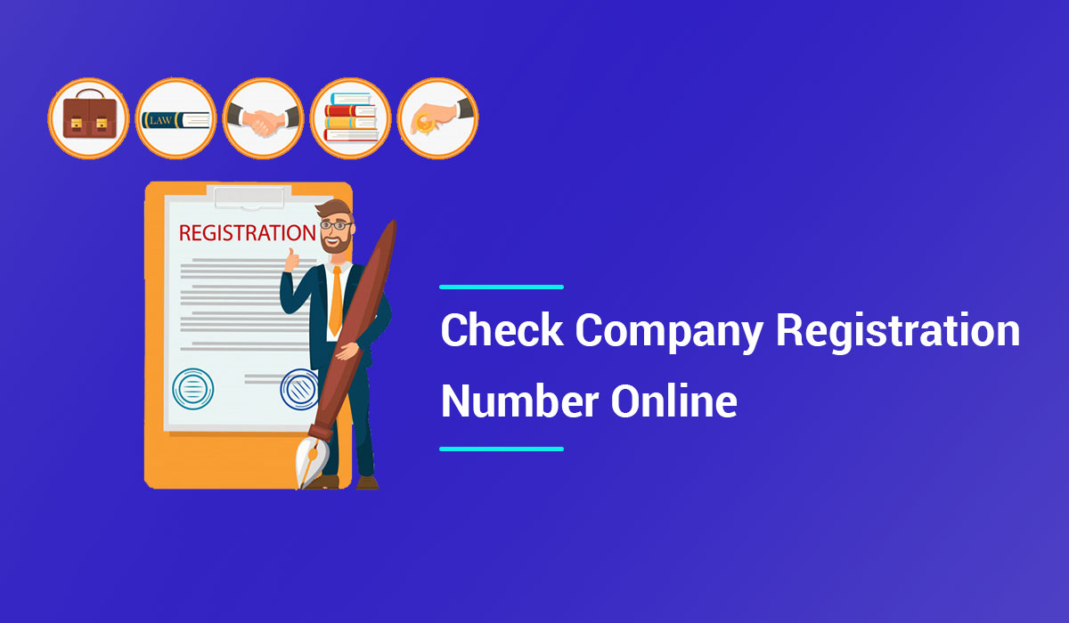 Steps to Check Company Registration number online on the MCA portal