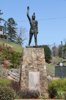 The bronze indian statue and monument located in Caddo Gap, Arkansas has caught the attention of lawmakers in Little Rock thanks to special language in the state parks department's budget.