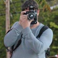 Dewayne behind camera