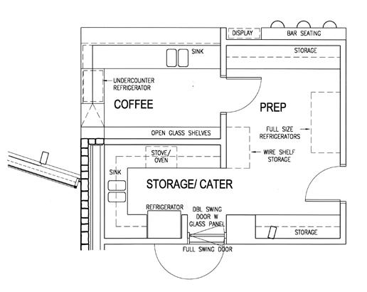COFFEE HOUSE FLOOR PLANS
