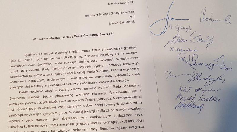 """Inicjatywa radnych Klubu """"Swarzędz 2020"""""""