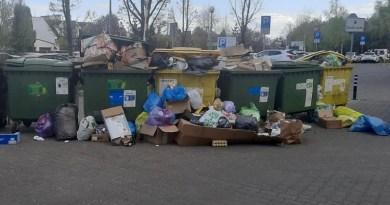 bałagan śmieci Działyńskiego alarm