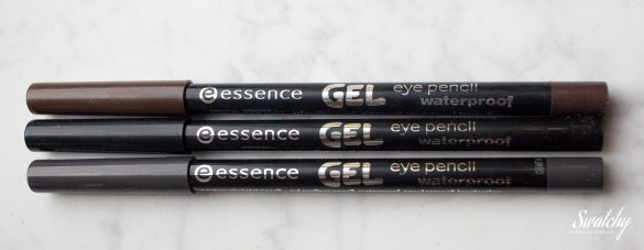 I got two gel eye pencils. Had the brown already and I LOVE it.