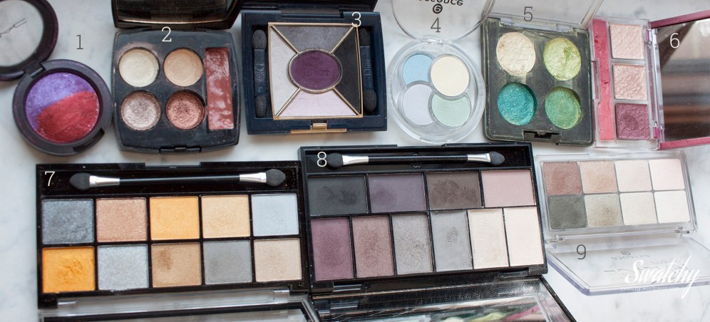 Other palettes. Pigment pressing craze from a while ago.
