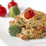 Baked Quinoa Chicken Broccoli