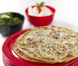 Four Cheese Paratha