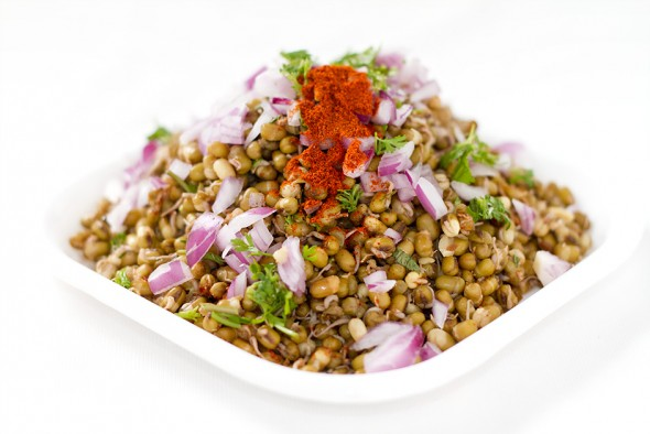 Sprouts Chaat : A healthy tangy snack