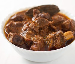 Adraki gosht - Mutton cooked with dried ginger powder