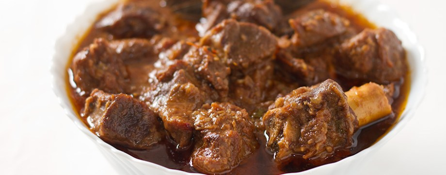 Adraki gosht - Mutton cooked with dried ginger powder