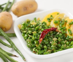 Stir fried cowpea beans