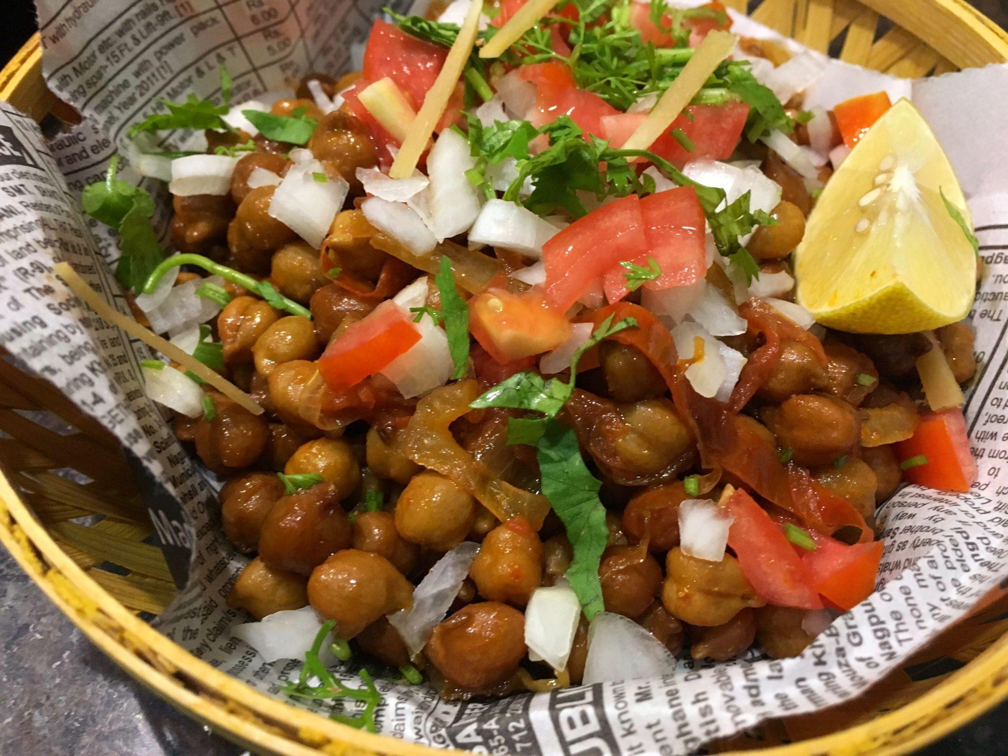 Chana Chaat Swati S Kitchen